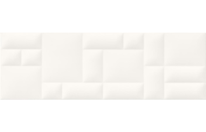 Pillow Game White Structure матова стінова 29×89 см, Opoczno - Зображення 1