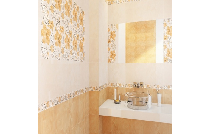Карат бежевий декор 20×30 см, Golden Tile - Зображення 2
